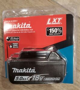 NEW GENUINE Makita LED GAUGE BL1850B 18V Single pack Battery 5.0 AH 18 Volt