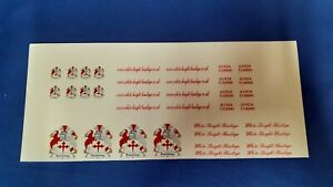 1:50 Scale White Knight Haulage, Waterslide Decals, Code 3 Decals. Auction