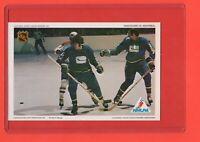1971-72   Vancouver vs Montreal  Pro Star NHLPA Postcard nrmnt-mint