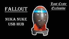 NEW FALLOUT LOOT CRATE LIMITED PRE ORDER EXCLUSIVE BONUS NUKA COLA USB HUB BOMB!