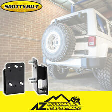 Smittybilt Spare Tire Relocator Bracket For 76-18 Jeep CJ Wrangler YJ TJ JK 3721