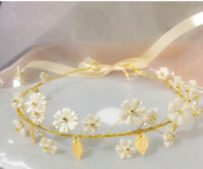 daisy handmade headband tiara bridal headpiece wedding hair jewelry