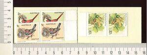 41156) AUSTRALIA 1978 MNH** QEII Birds 1c(x2) + 2c(x2) + 27c(x2) - SG B47f