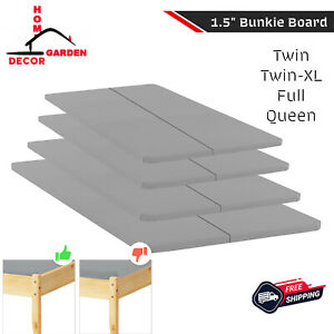 """1.5"""" Split Bed Board Carry Travel Store Night Rest Boards Mattress Life Extender"""