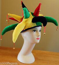 Rasta Rastafarian Notting Hill CARNEVALE CAPPELLO Jester-Fancy Dress