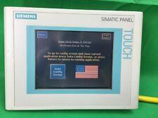 SIEMENS SIMATIC TOUCH PANEL 6AV6 642-0BA01-1AX0