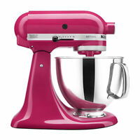 KitchenAid KSM150PSCB Artisan Series 5-Qt. Stand Mixer with Pouring Shield,