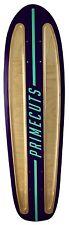 Purple Prime Cuts Natural Retro skateboard Cruiser deck channels A02