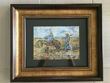 Rare Original Oil on paper signed Vincent van Gogh with COA , Picasso, Miro era