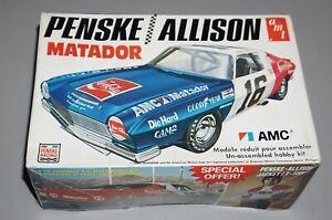 Penske Allison Matador AMC Vintage AMT 1/25 Complete & Unstarted.