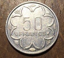 PIECE DE 50 FRANCS AFRIQUE CENTRALE 1996 (133)