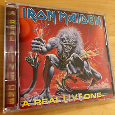 IRON MAIDEN A Real LIVE One CD BMG Music Club Issue European Concerts !