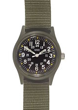 MWC Olive Drab 1960/70s Vietnam Pattern Military Watch on Military Strap / Band
