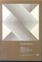 "HAYDN ~ ""Missa G-Dur Sancti Nicolai"" -  Klavier-Auszug"