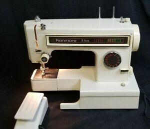 Kenmore 8 Stitch Sewing Machine- Model 158 Stitch Selector w/ Pedal