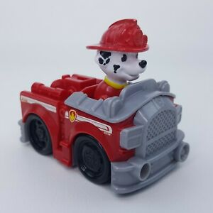 Paw Patrol Racers Marshall Fire Rescue Truck Vehicle 16605 Spin Master Red