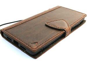 Genuine Leather Case for Google Pixel 6 Book Vintage Wallet Cover Soft Magnetic