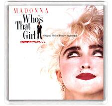 MADONNA - WHO'S THAT GIRL BACK LP COVER FRIDGE MAGNET IMAN NEVERA