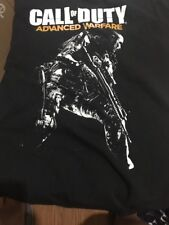 Call of Duty Advanced Warfare with Soldier Black T-SHIRT XL