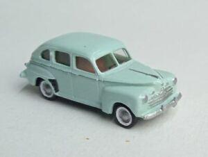TT scale (1:120) model of the American car 1946 Ford sedan