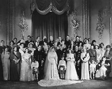 1947 QUEEN ELIZABETH & KING PHILIP MOUNTBATTEN Glossy 8x10 Photo Poster Print