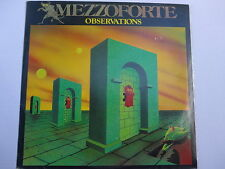 Mezzoforte ‎– Observations LP, Aus, Vinyl NM