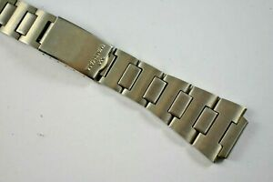 Vintage Waltham Stainless Steel Diver Style Wrist Watch Band 16.60mm lot.f