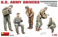 MODEL KIT  FIGURES MIN35180 - Miniart 1:35 - U.S. Army Drivers
