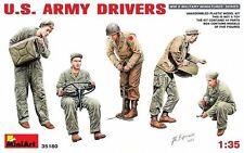 MODELL BAUSATZ FIGUREN MIN35180 - Miniart 1:35 - US Armee Fahrer
