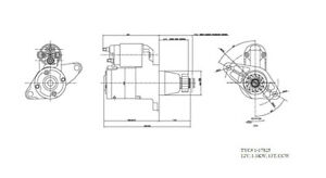 New Starter  TYC  1-17825