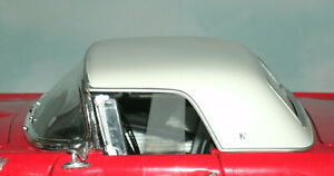 1/18 Scale 1950's Ford Thunderbird Hard Top Roof Diecast Diorama Accessory Part