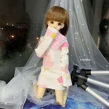 1/4 1/6 BJD Clothes Long Sleeves Casual Hip T-shirt with Scarf AOD AI AS RD DL
