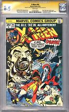 X-Men #94 CGC 8.5 SS White Pages 2x Signed by Stan Lee & Chris Claremont!