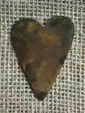 RUSTY TIN FOLK HEARTS * SET/12 * 2