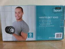 9-teiliges Hantel-Set für Sport Fitness * Gewichte Set * Hantelscheiben NEU