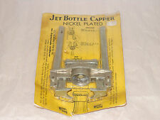 JET Bottle Capper Beer Wine Oregon Spec Co Portland Ore Caps New Sealed