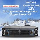 Universal 12V A/C AC KIT Underdash Evaporator Compressor Air Conditioner 3 Speed photo
