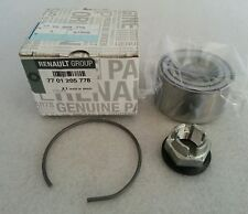 GENUINE RENAULT CLIO EXTRA TWINGO FRONT WHEEL BEARING KIT 7701205778