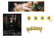 SUPREME 4 Adesivi King of New York Leda Swan  Cigno Sticker Walken dress