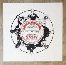 2004 Sxsw/Flatstock 4 Art Show - Silkscreen Event Poster by Amy Jo