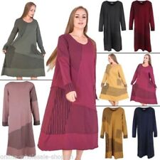 Stripes Casual Dresses for Women with Smocked