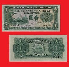 Timor 1 Pataca 1945. UNC - Reproductions