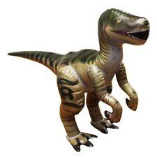 "Inflatable Jet Creations  Velociraptor Dinosaur  - a 30"" Tall , 51"" long raptor."