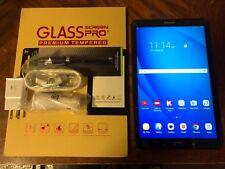 Samsung Galaxy Tab A SM-T580 16GB, Wi-Fi, 10.1in - Black NEW OPEN BOX BUNDLE