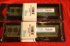 DESKTOP 4GB (2x2GB) EDGE DDR3 240P DIMM  PC310600   P/N PE215736 MEMORY MODULES