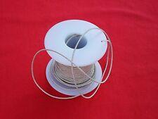 """600 Watt 1 Ft, .054""""  Speaker  Braided Tinsel Lead Wire. Speaker  Repair"""