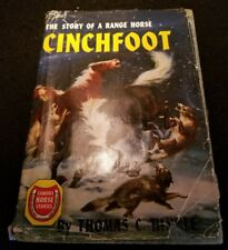 Famous Horse Stories - Cinchfoot: Story of Range Horse by Thomas Hinkle HB/DJ