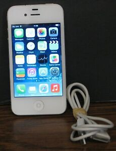 Apple iPhone 4 - ATT Locked - White - A1332 - 8GB - NO SIM CARD