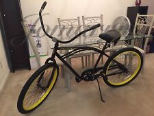 Authentic Limited Edition ROCKSTAR Energy Drink Felt Beach Cruiser Bike Bicycle