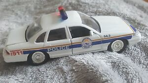 Road Champs Borough Of Bridgeport Police Diecast Vehicle 1:43 Scale